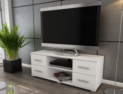 Oskar TV, biely, 120 cm