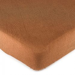 4Home jersey prestieradlo hnedá, 160 x 200 cm
