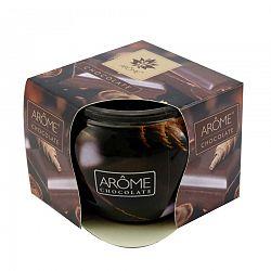 Arome Vonná sviečka v skle Chocolate, 85 g
