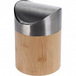 Bambusový kozmetický odpadkový kôš Lina, 1 l