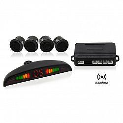 Bezdrôtový parkovací asistent so 4 senzormi a LED displejom