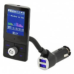 Compass Hands free FM transmitter s LCD displejom