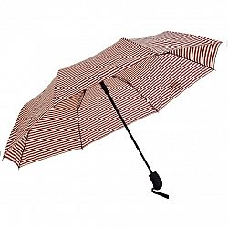 Dáždnik Stripes červená, 55 cm
