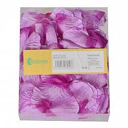Dekoračné okvetné lístky pr. 5 cm, 100 ks, fialová