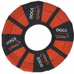 Hádzací disk pre psov, oranžová
