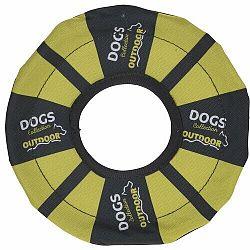 Hádzací disk pre psov, žltá