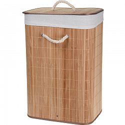 Kôš na bielizeň Bamboo, prírodná
