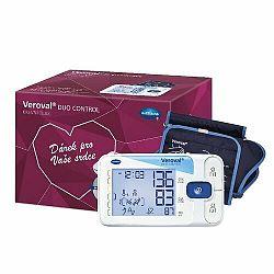 Ramenný tlakomer Veroval duo control darčekové balenie, 2 manžety a sieťový adaptér