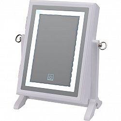 Šperkovnica so zrkadlom LED, biela