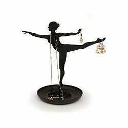 Stojan na šperky Balerina, čierna