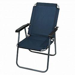 Židle kempingová skládací CATTARA LYON tmavě modrá